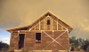 Straw Bale with Frame